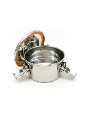 Contenant étanche à l'air et à l'eau en acier inoxydable pour le stockage des aliments - 182ml