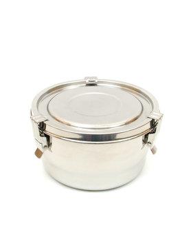 Contenant étanche à l'air et à l'eau en acier inoxydable pour le stockage des aliments - 675ml