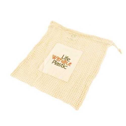 Organic Cotton Mesh Produce Bag - Medium
