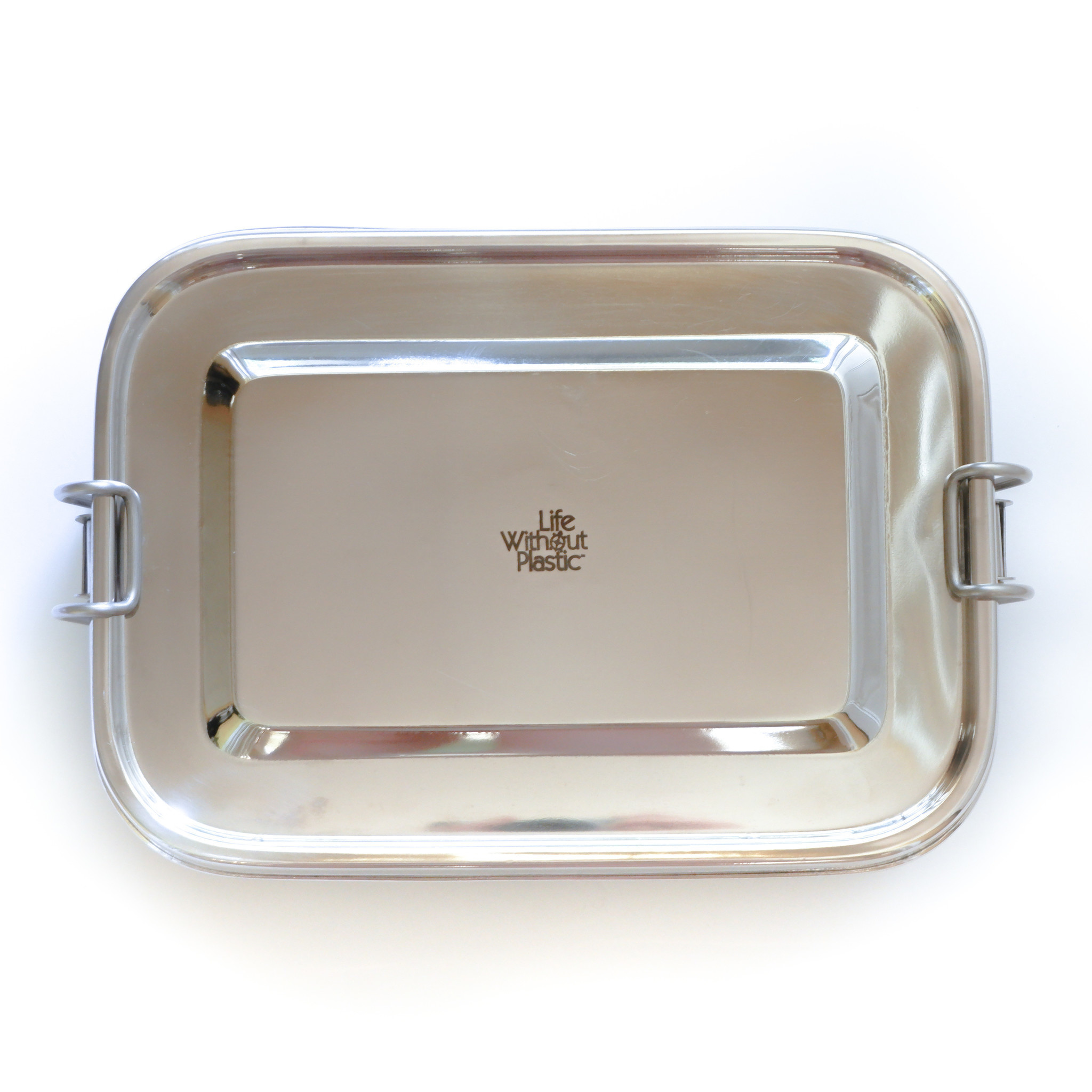 Stainless Steel Rectangular Airtight Food Storage Container - 1.6 L