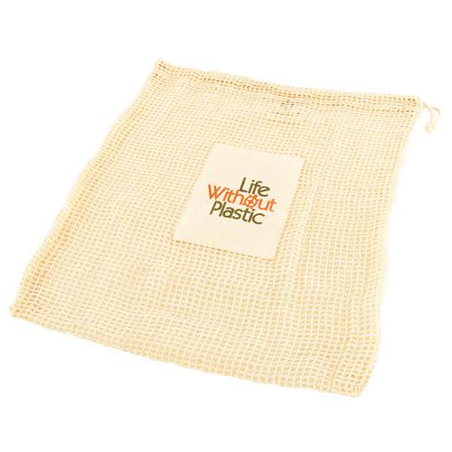 Organic Cotton Mesh Produce Bag - Large - Case of 12