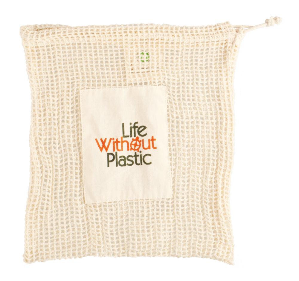 Organic Cotton Mesh Produce Bag - Medium - case of 12