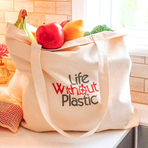 Compact Shopping Bag Made of Certified Organic Cotton - Case of 12