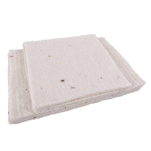 Wool Panels for New Rectangular Lunchbag -  4 Rectangle and 2 Square Panels