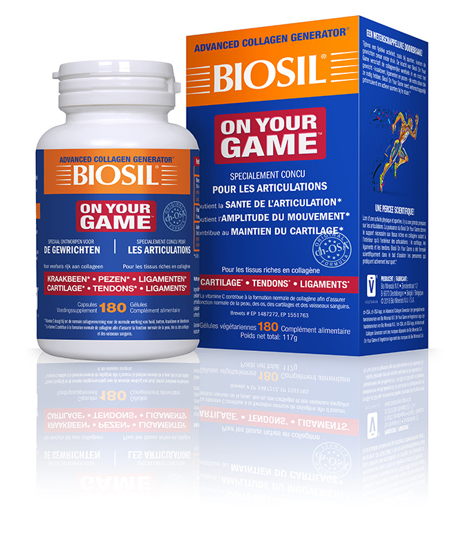 BioSil On Your Game 180 gélules