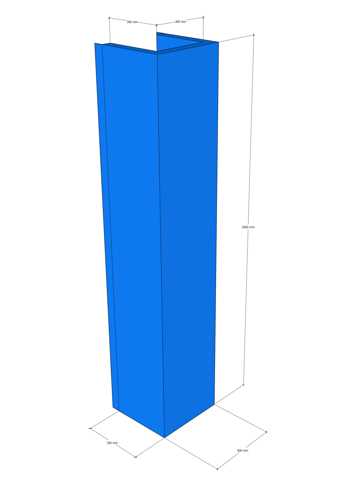 U-PRALLSCHUTZ für Truss Traversen 30x30cm