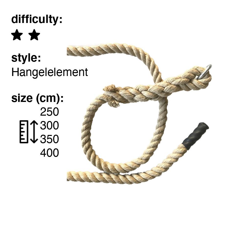 Polyhemp rope 2,0m