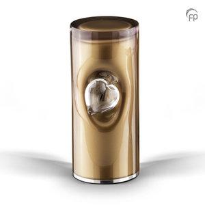 GUP 055 M Glazen urn medium