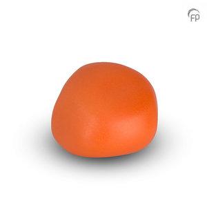Urnenatelier Schoonhoven KK 029 Knuffelkeitje mat oranje