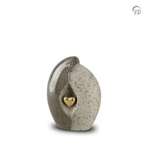 KU 002 S Keramische mini urn