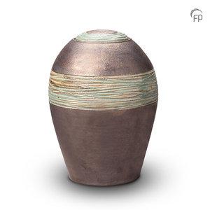 KU 304 Keramische urn metallic
