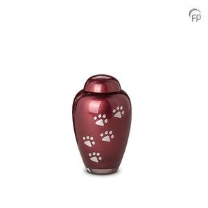 GUP 024 S Glazen dierenurn klein