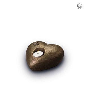 UGK 204 Keramische dierenurn brons