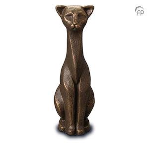 UGK 208 Keramische dierenurn brons