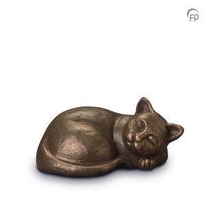 UGK 210 Keramische dierenurn brons
