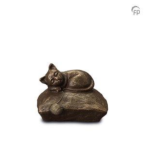 UGK 211 Keramische dierenurn brons