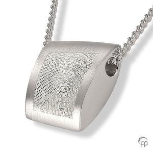 AH 004.FP Assieraad hanger met fingerprint
