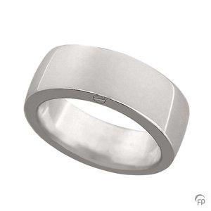 R 033.8 Asche Schmuckstück Ring glänzend