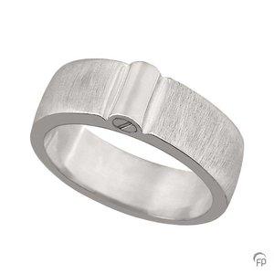 R 038.8M Asche Schmuckstück Ring matt