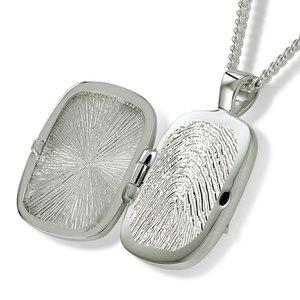 AH 050.FP Assieraad hanger met fingerprint