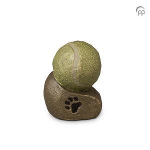 UGK219Keramische dierenurn brons