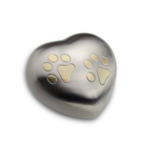 HUH 015 M Metall Tierurne Herz mittelgroß