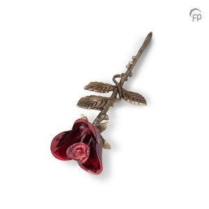 HU 752 K Messing Mini-Urne Rose