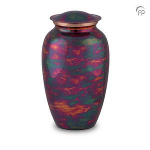 HU 293 Metaal urn Raku
