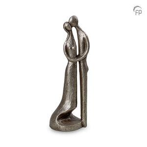 UGKS 501 Keramische urn zilver - Space between our love