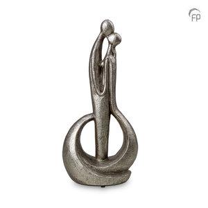 UGKS 503 Keramische urn zilver - Forever means a lot