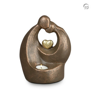 UGK 045 BT Keramische urn brons Verlichte troost (Waxine)