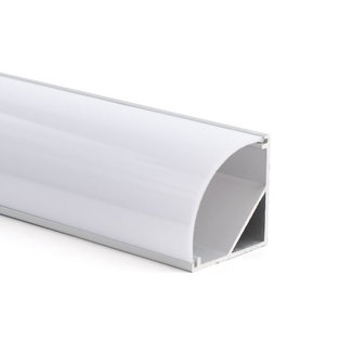 LED-nauhan alumiiniprofiili 1 m kulma 30x30 mm