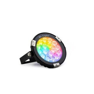 LED-puutarhavalo RGB+CCT 9W IP65 musta