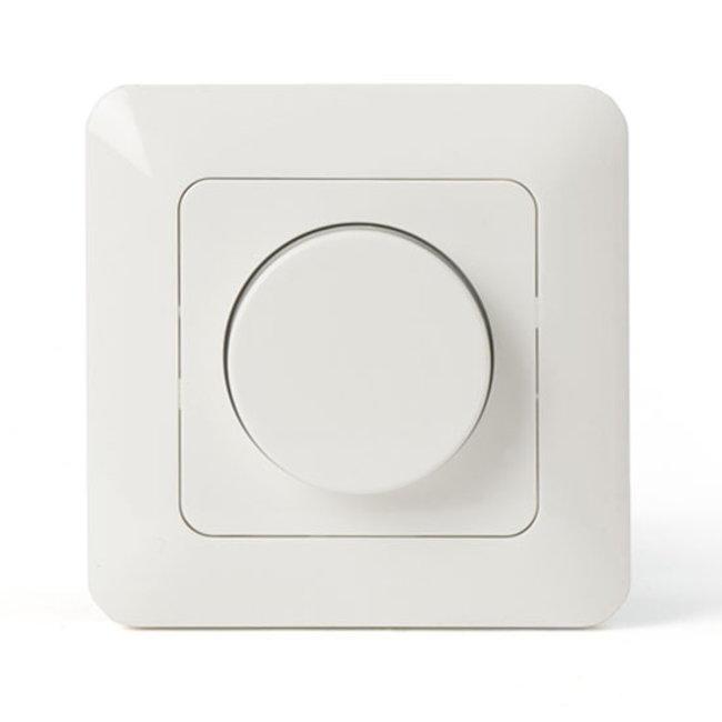 LED-himmennin pyöritettävä 230 V 1-200 W sis. valitsimen ja kansilevyn
