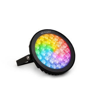 LED-puutarhavalo RGB+CCT 15W IP65 musta
