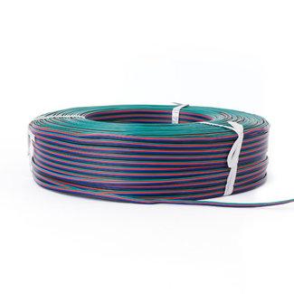 LED-nauhan jatkojohto RGB 4-johtoinen AWG22 50 m