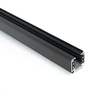 Valokisko 4-johtoinen 2,5 m musta