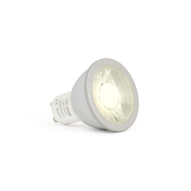 Dimringsbar GU10 5W LED-spotlight