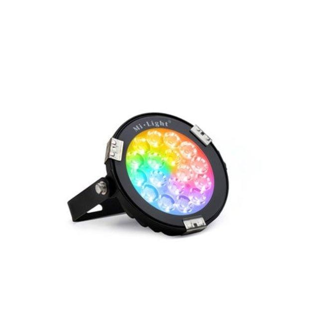 LED-trädgårdslampa RGB+CCT 9W IP65 svart
