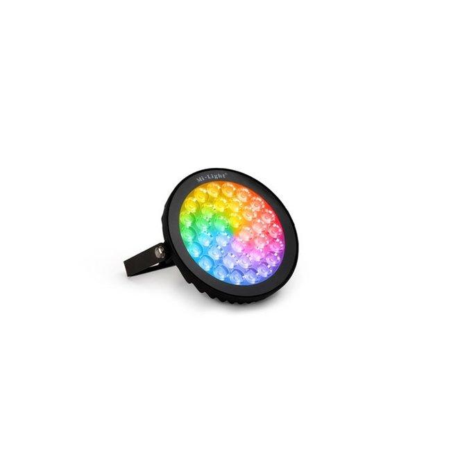 LED-trädgårdslampa RGB+CCT 15W IP65 svart