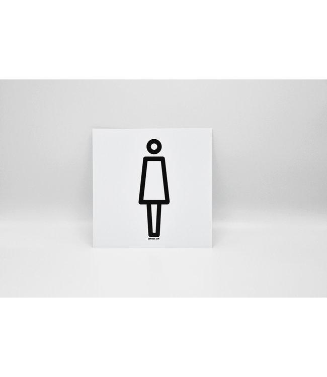 Certeso Pictogram vrouw