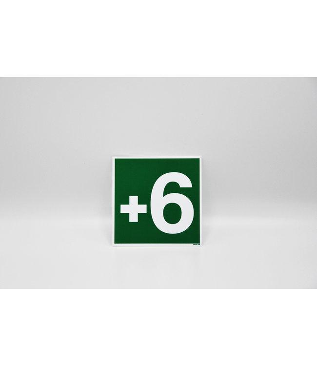 Certeso Pictogram niveau +6