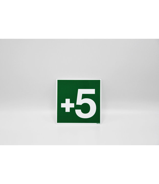 Certeso Pictogram niveau +5