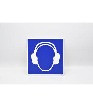 Certeso Pictogram gehoorbescherming verplicht