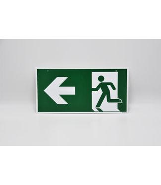 Certeso Pictogram evacuatie links /rechts dubbelzijdig