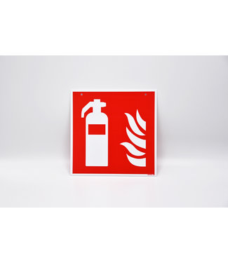 Certeso Pictogram  brandblusser dubbelzijdig - kunststof