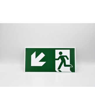 Certeso Pictogram evacuatie linksonder