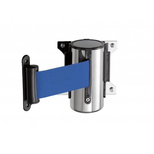 Saro Muursysteem voor Afzetpaal | 2 meter Blauw Band | Model PW 2 B