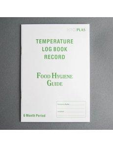 Hygiplas Temperatuur Logboek | 6 maanden registratie.