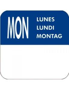 Vogue Label stickerrol voor weekdag Maandag